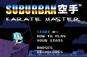 Suburban Karate Master(Title Picture)