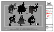GB419COMIC Character ShadowGuy