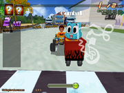 Gumball Formula Cartoon Race