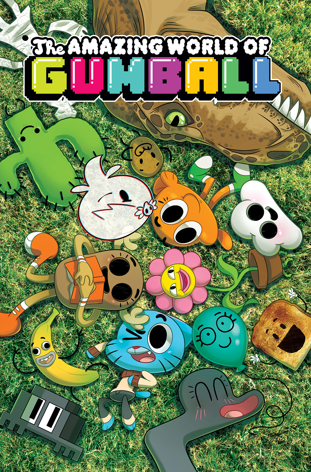 The Amazing World Of Gumball The Tba Issue 4 | The A...