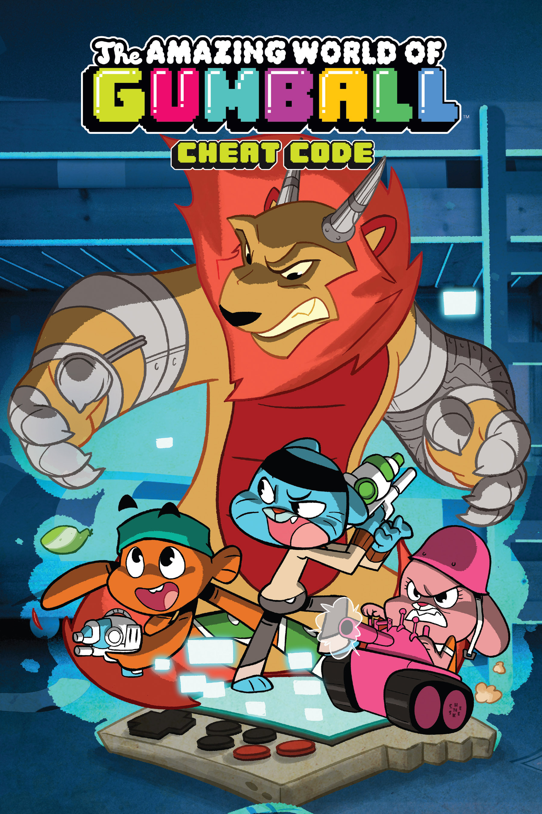 The Amazing World of Gumball Vol. 2: Cheat CodeFan Feed