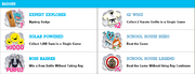 Gumball School Rush Rumble Badges