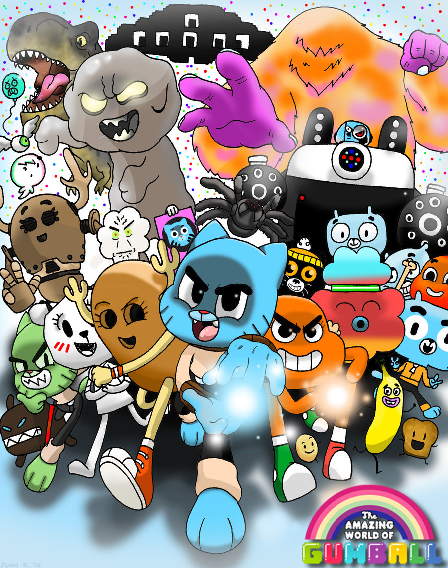 The Amazing World Of Gumball The Tba Tina Rex | The ...