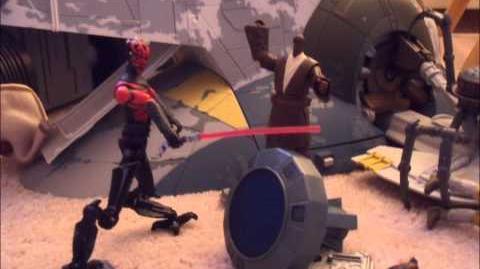 Star Wars Stop Motion Prologue Menace