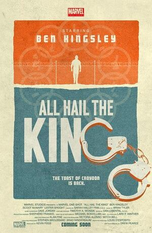 All-hail-the-king poster