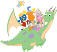 The Backyardigans Dragon 2-D