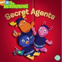 The Backyardigans Secret Agents Book