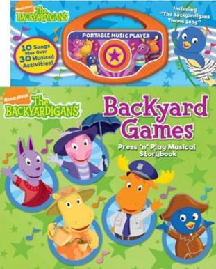 Backyard Games The Backyardigans Wiki Fandom Powered