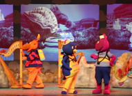 The Backyardigans Giant Clam Animated Sea Deep in Adventure