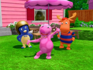 The Backyardigans High Tea 6 Characters Cast Uniqua Pablo Tyrone