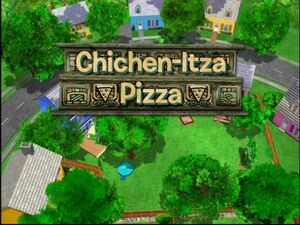 Chichen-Itza Pizza
