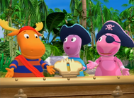 Backyardigans Pirate Treasure 18 - Uniqua Tyrone Austin