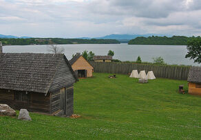 View from Fort Loudoun