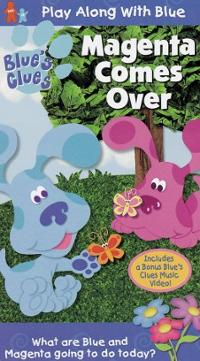 Blues-clues-magenta-comes-over-vhs-cover-art