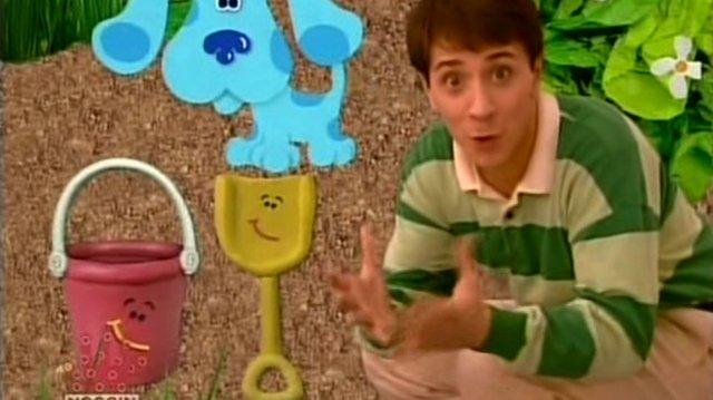 Video - Blue's Clues - 1x19 - Magenta Comes Over! | Blue's ...