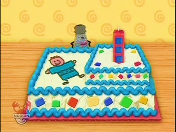 Birthday Cake Mailbox