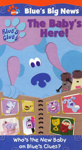 Blue S Big News Vol 2 The Baby S Here Blue S Clues
