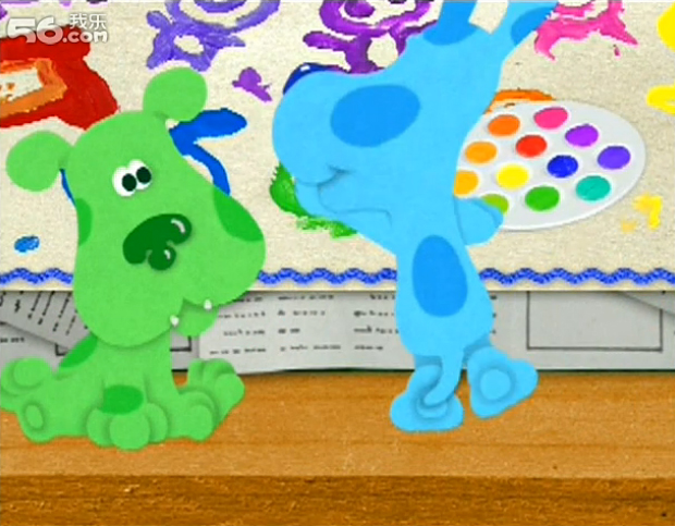 baby bear blues clues coloring pages - photo #30