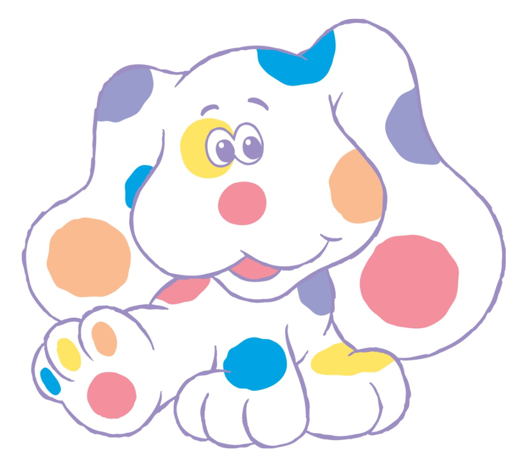 baby bear blues clues coloring pages - photo #21