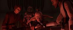 Obi-Wan rescues Piell-Citadel