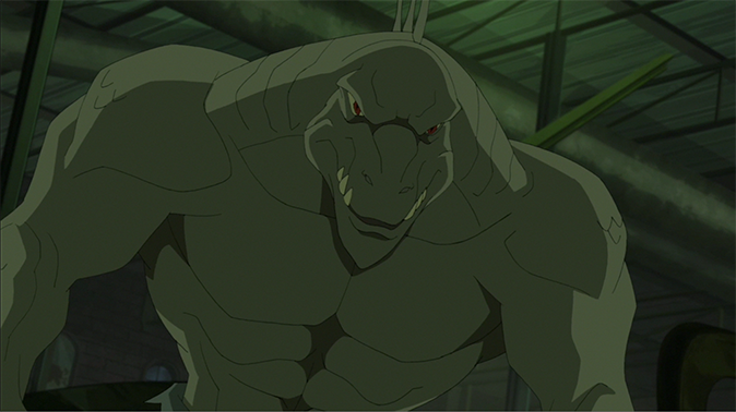image lizardpng ultimate spiderman animated series