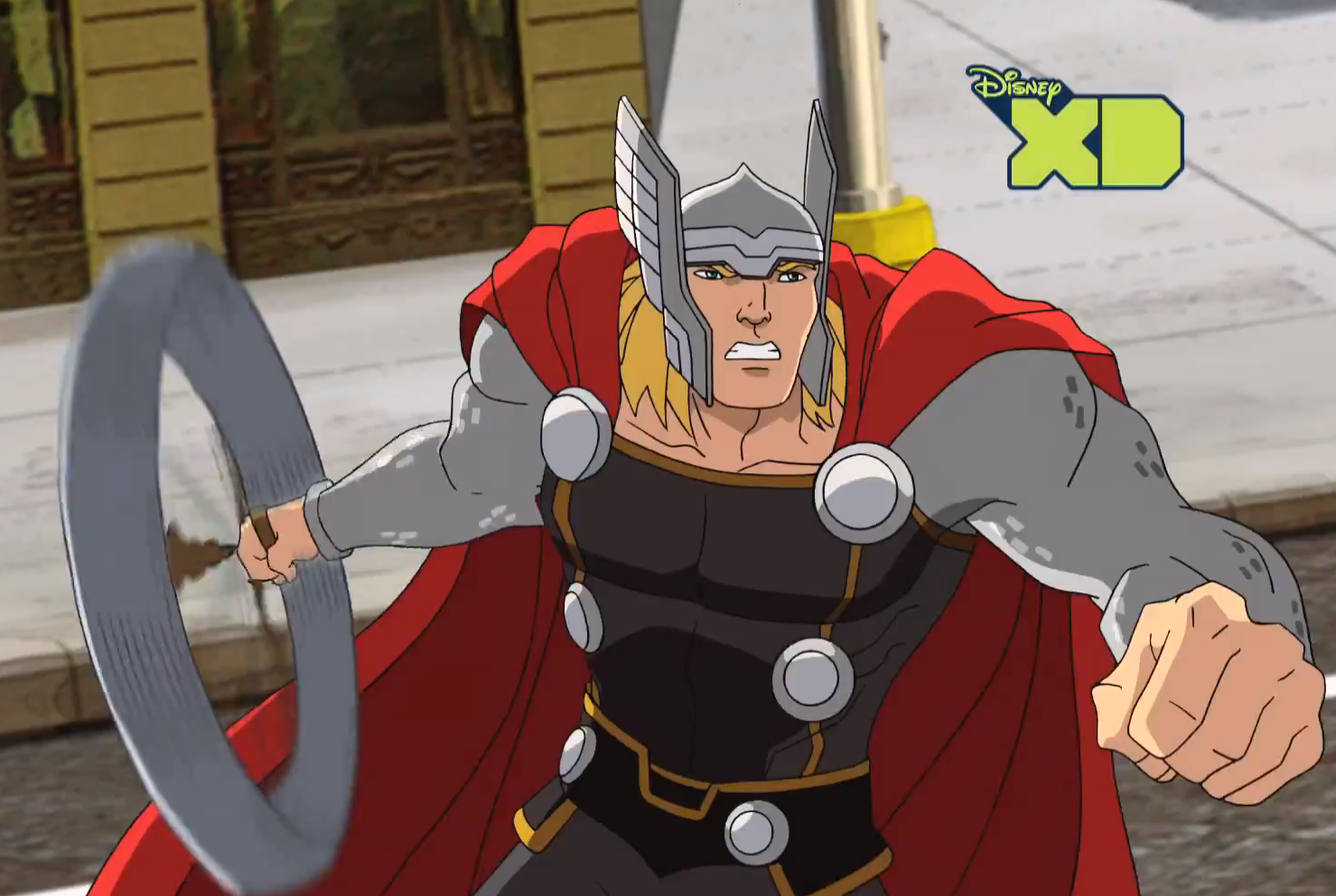 Ultimate spider man thor