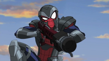 webcannon 3000 ultimate spiderman animated series wiki