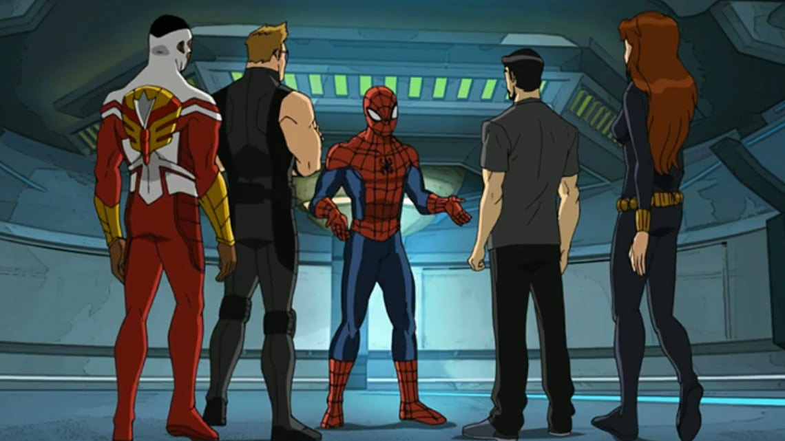 Ultimate-Spider... Ultimate Spider Man Web Warriors Episode 1
