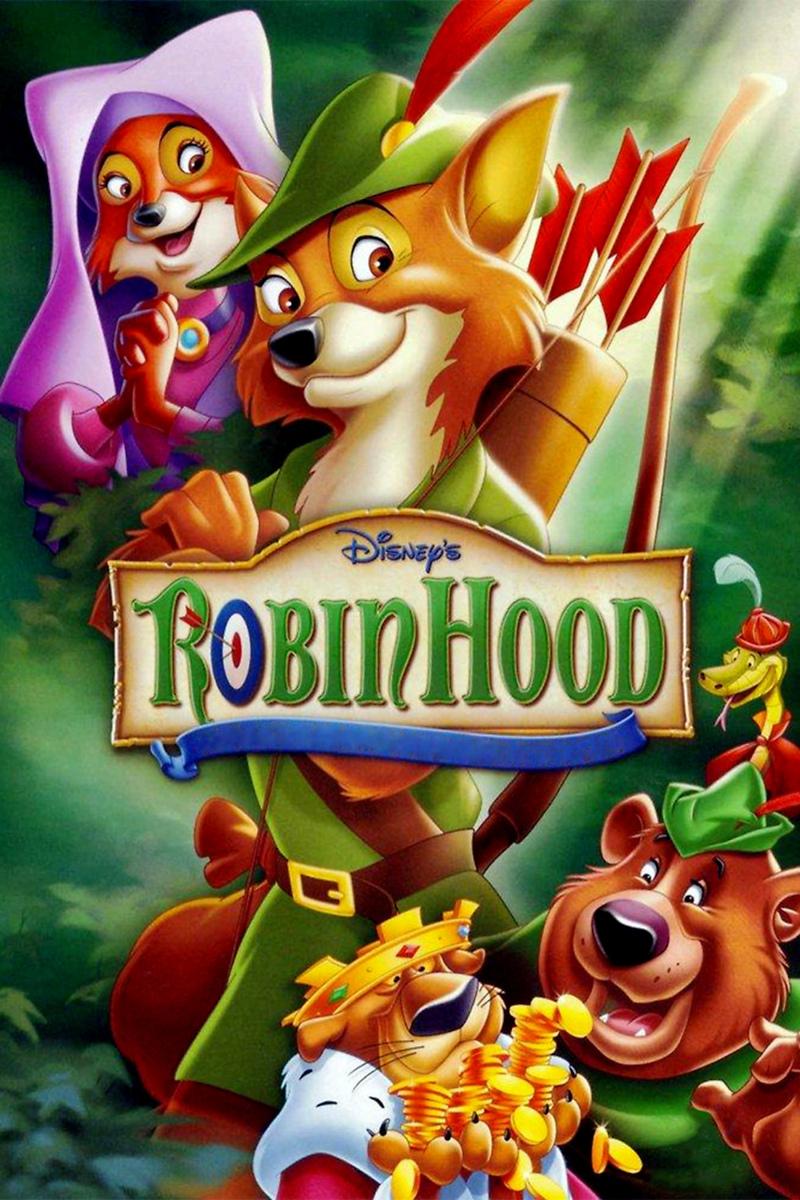 Image - Robin-Hood-1973-movie-poster.jpg | Descendants ...