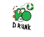Drunk yoshi doll