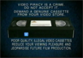 20th Century Fox Home Entertainment Illegal Video Cassettes (1997) (Version 1)