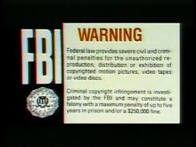 Warner Home Video Warning 3
