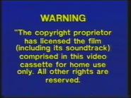 MGM Home Entertainment UK Warning 4b
