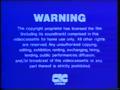 CIC Video Warning (1984)