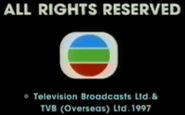 1997 - TVBI Company Limited Copyright Screen in English