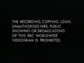 BBC Video Warning Screen (1995)