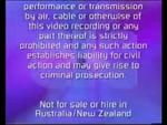 CIC Video Warning (1997) (Variant 2) (S3)