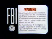 WCI Home Video Warning