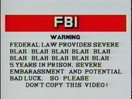 Warning Screen 15