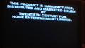 20th Century Fox Warning Scroll 1997 (S2)