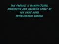 20th Century Fox Warning Scroll 2000 (S2)
