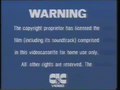 CIC Video Warning (1986) (S1)