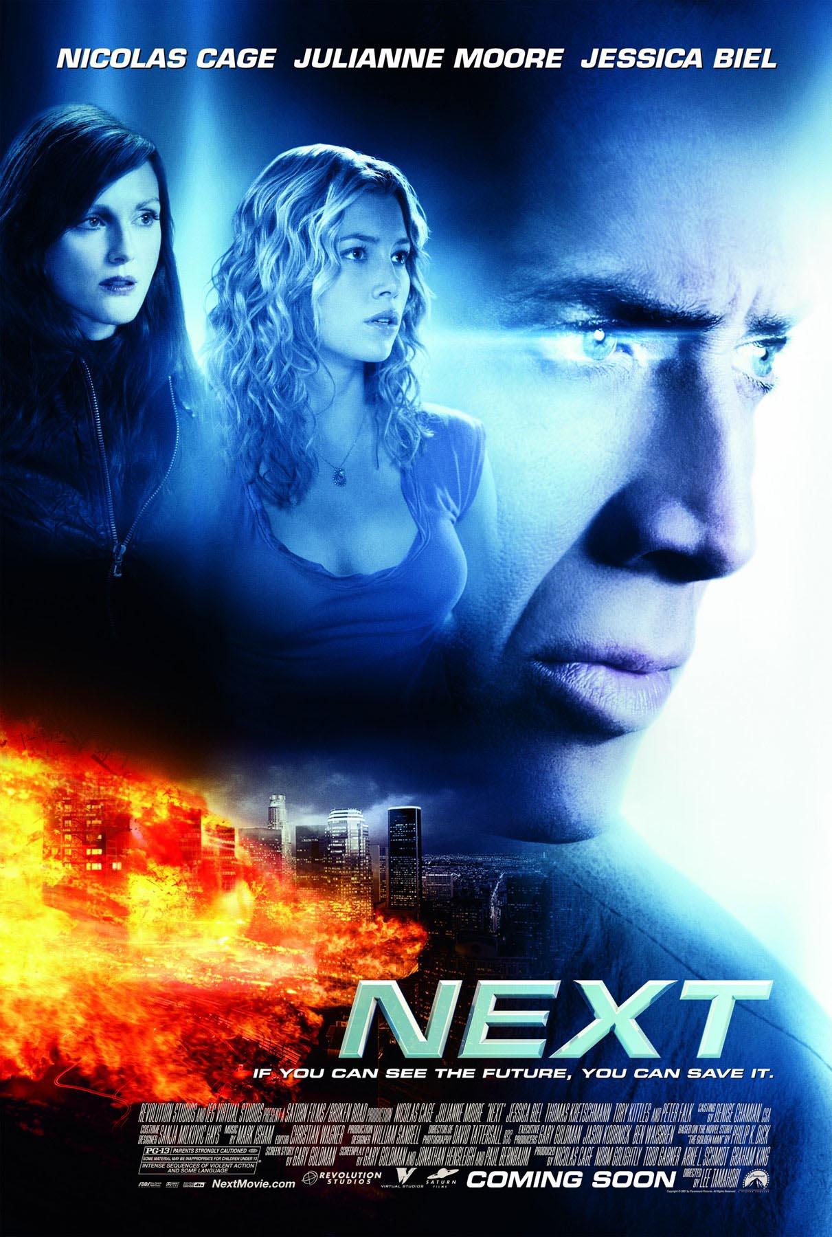 ニコラス・ケイジのNEXTネクストという映画