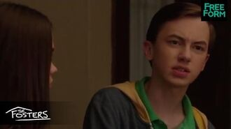 """The Fosters Season 4, Episode 15 Sneak Peek """"Why Don't We Have Gay Sex Ed?"""" Freeform"""