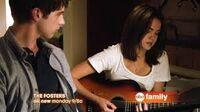 Callie and brandon playing music