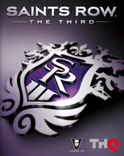 Saints Row The Third box art
