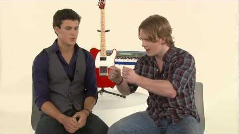 The Glee Project 2 One-on-One Maxfield and Michael