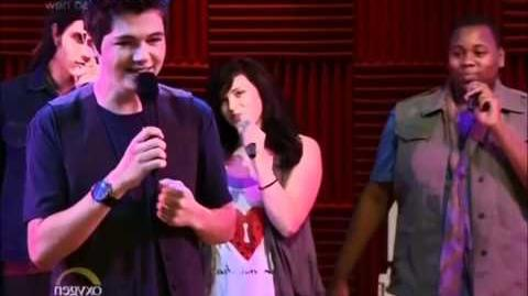 Lean On Me - The Glee Project Cast