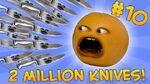 Annoying Orange - ASK ORANGE -10- TWO MILLION KNIVES (Super Bowl XLVIII)