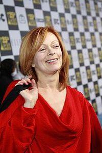 File-Frances Fisher at the 2010 Independent Spirit Awards